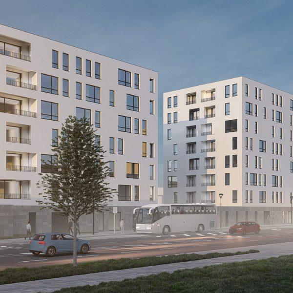Bytové domy Corso Ostrava